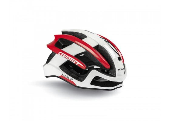 HELMET GIST VOLO L-XL(56-62) white-red