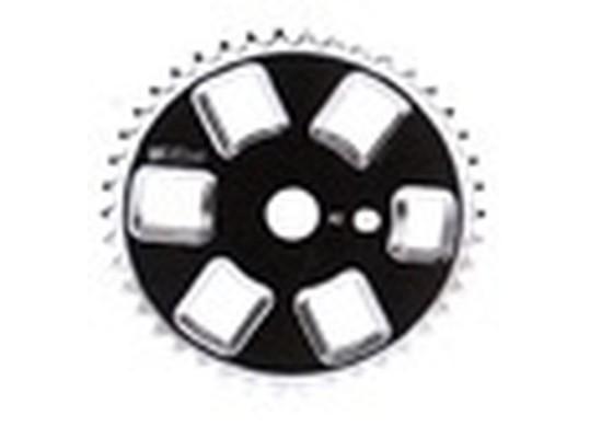 Δίσκος BMX GT μαύρος 42 δόντια