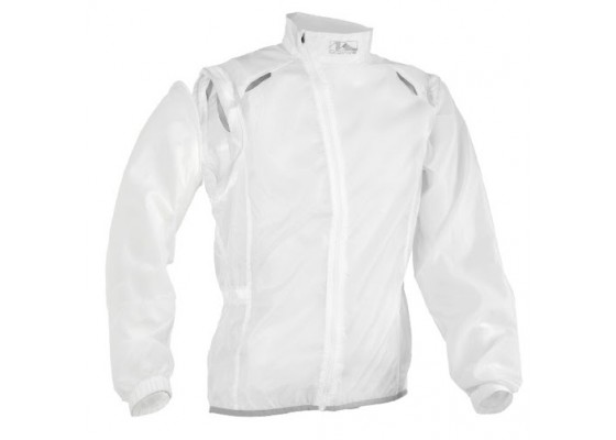 Windstop-water resist vest L white