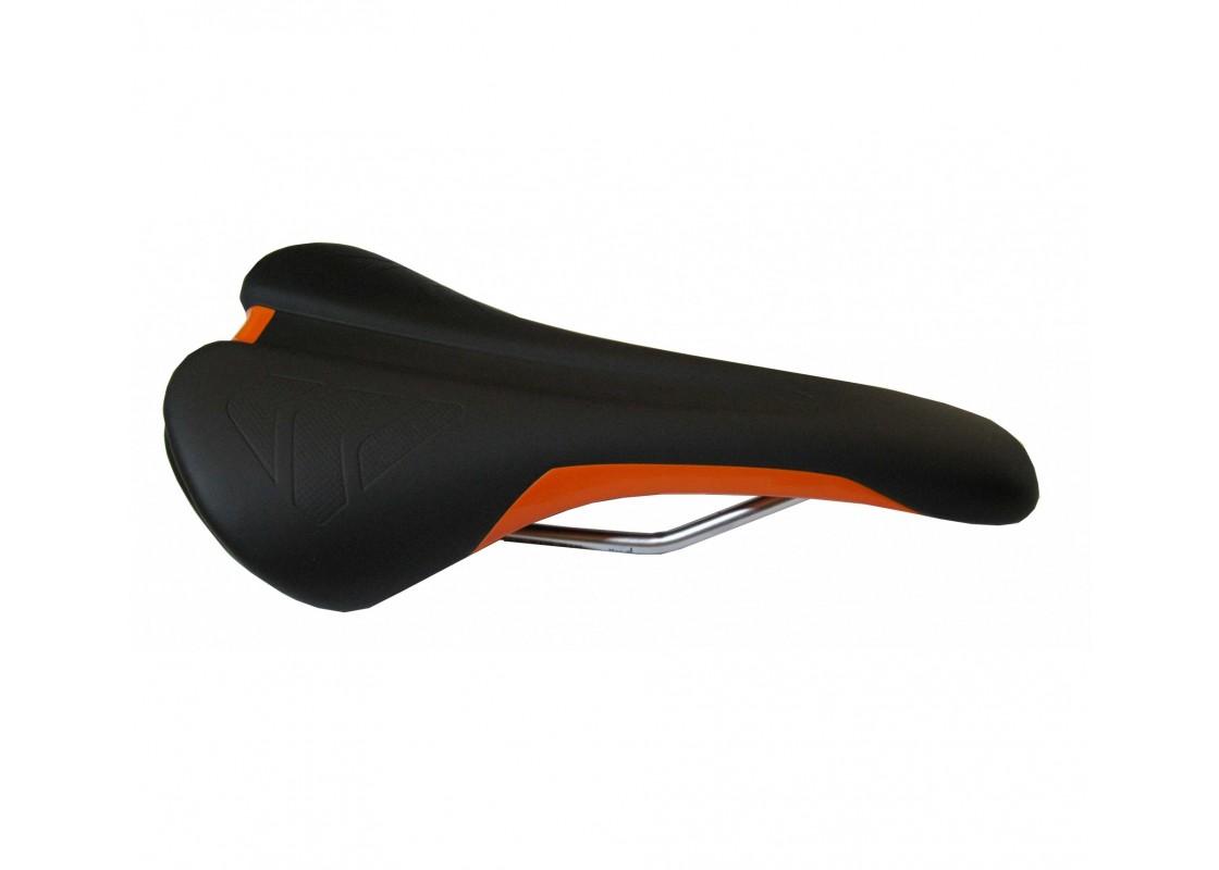 Σέλα Velo MTB μαύρο-πορτοκαλί Σέλες zeussa.gr