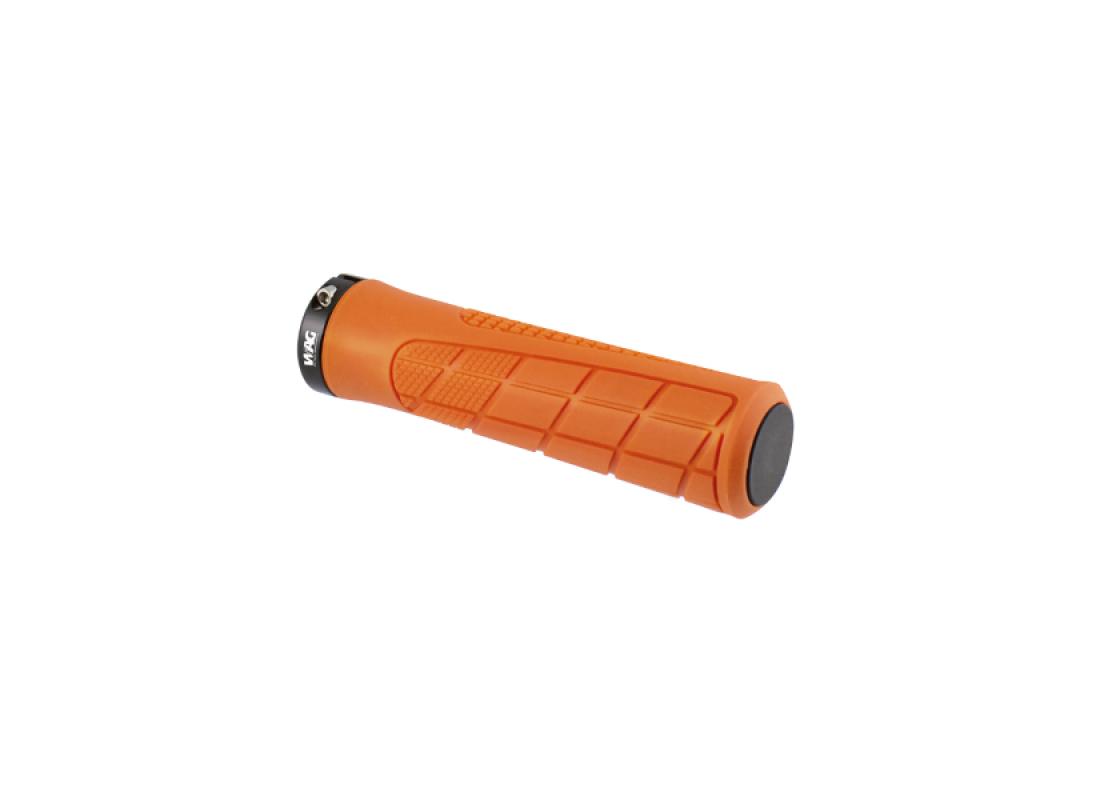 Grips wag 135mm orange w/lock Accessories zeussa.gr