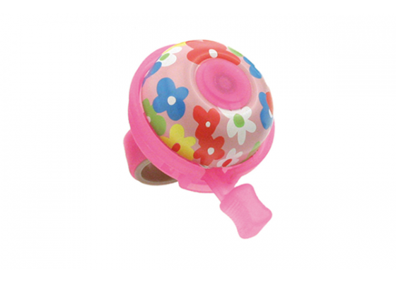 Bicycle bell flower pink