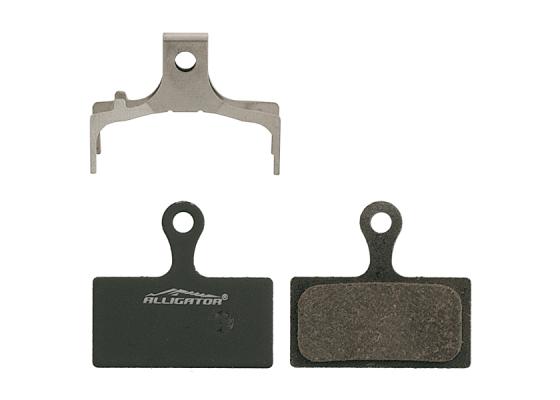 Brake pads Alligator O.PRO with spring(BR-M985)(BR-M785)(BR-M666)(BR-S700)