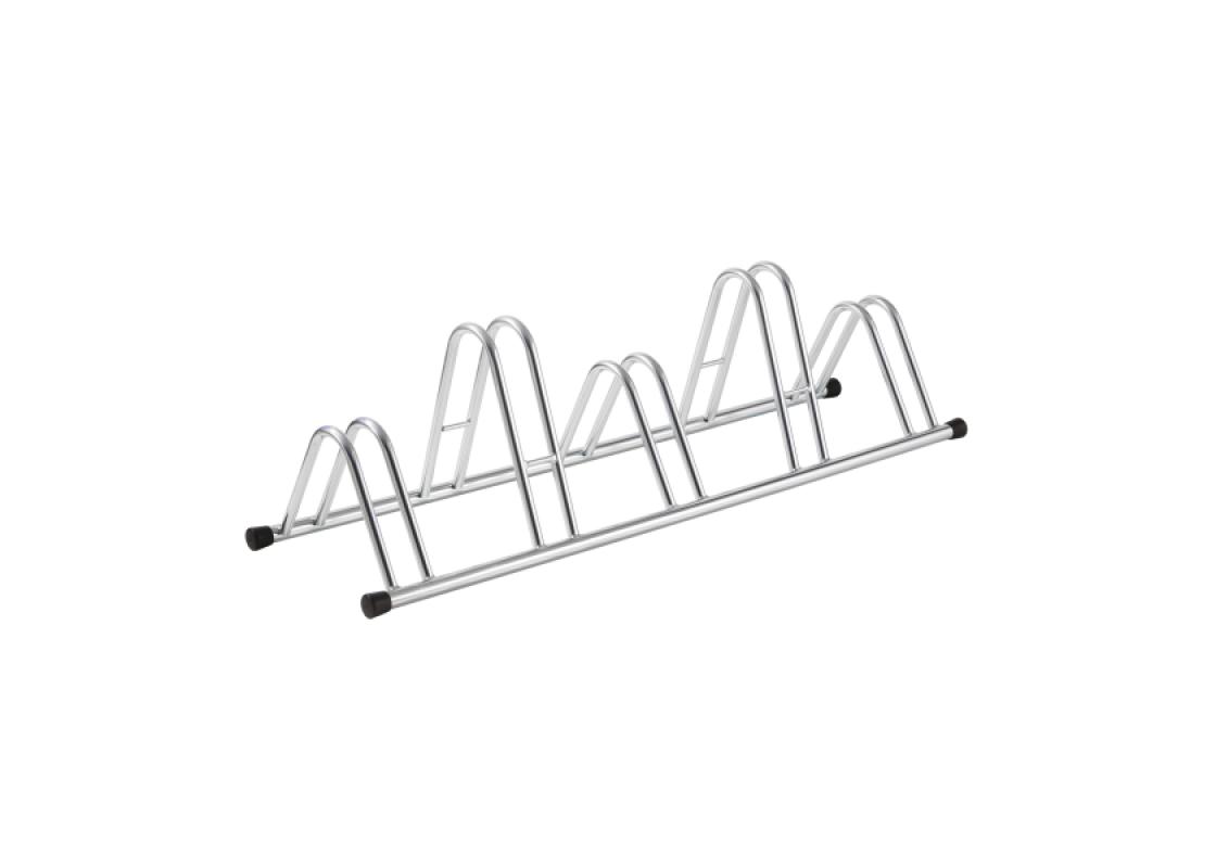 Bike rack for 5 bikes, silver color. Spare Parts zeussa.gr