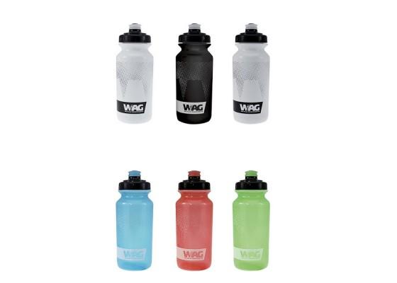 Plastic water bottle 500ml blk