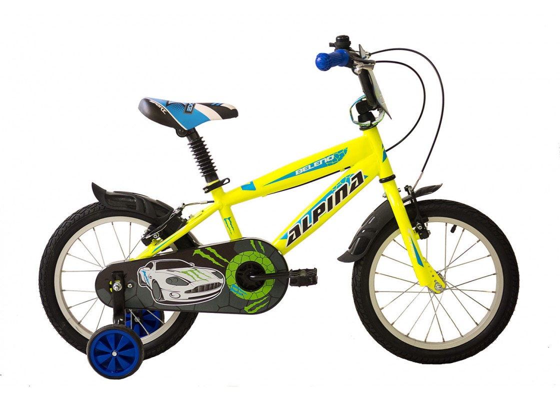 Ποδηλατα Παιδικα - Ποδηλατα - Alpina Beleno VB 16 Κίτρινο- Μπλε Ποδήλατα zeussa.gr