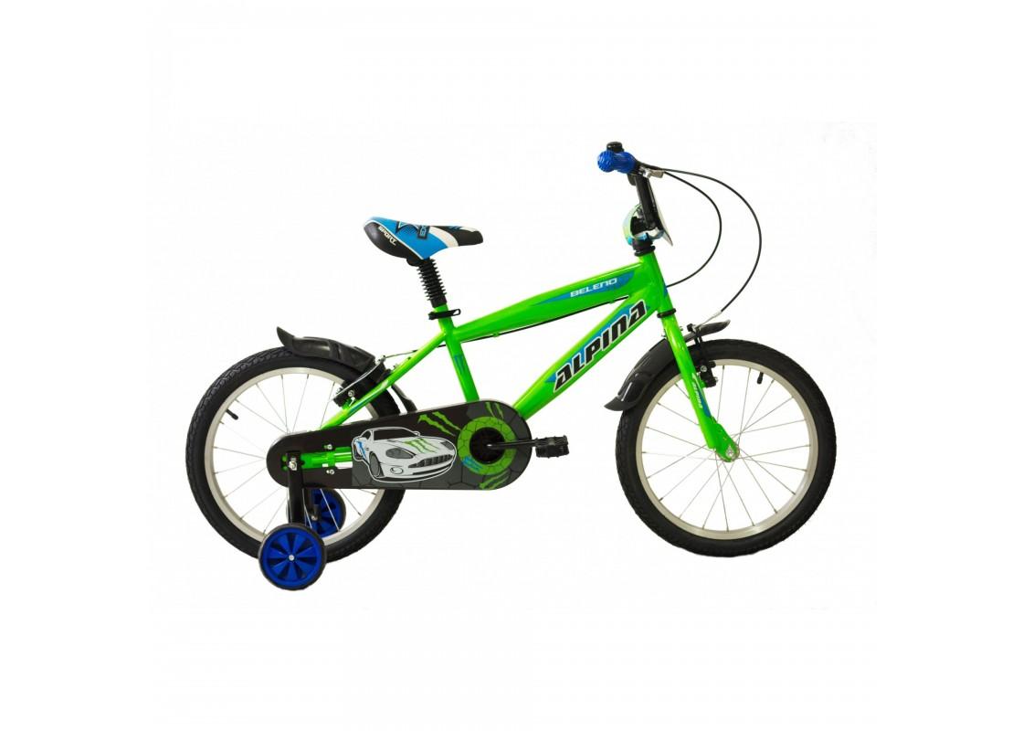 Ποδηλατα Παιδικα - Ποδηλατα - Alpina Beleno VB 18 Πράσινο-Μπλε Ποδήλατα zeussa.gr