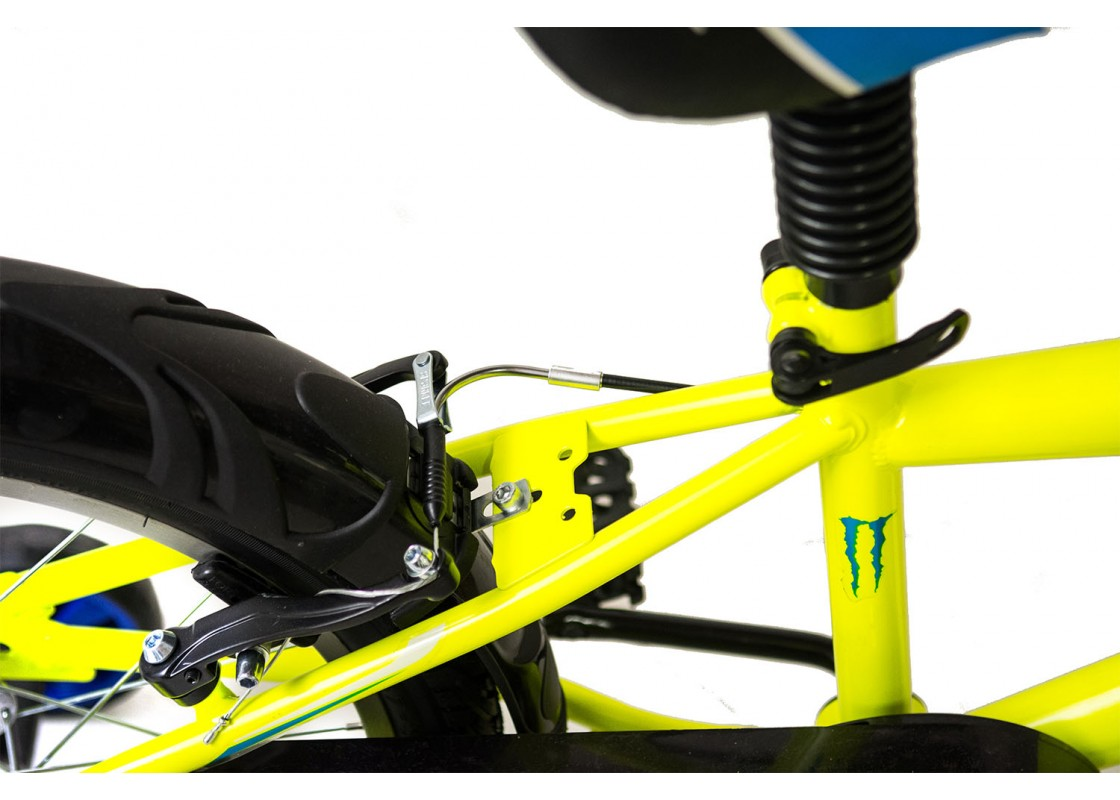 Ποδηλατα Παιδικα - Ποδηλατα - Alpina Beleno VB 18 Κίτρινο- Μπλε Ποδήλατα zeussa.gr