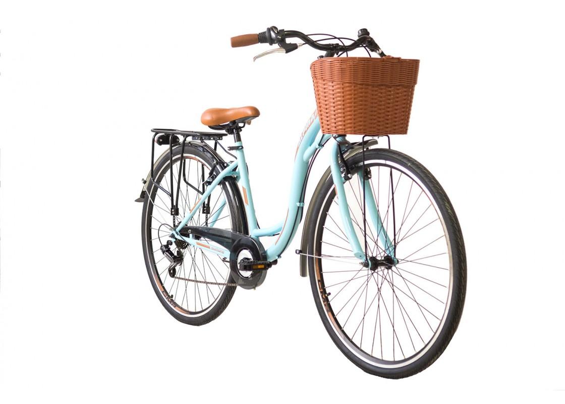 Ποδηλατα Δρομου Χωμα - Ποδηλατα - Alpina City S 28x17 Γαλάζιο Ποδήλατα zeussa.gr