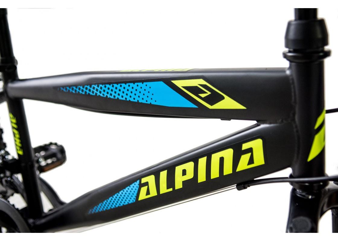 Alpina Alpha MTB 20x11 Μαύρο-Πράσινο