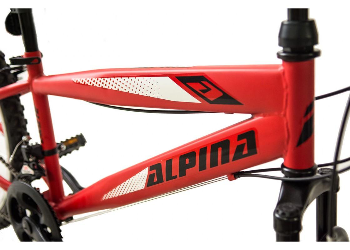 Alpina Alpha S MTB 24x12 Κόκκινο-Λευκό