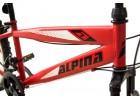 Alpina Alpha S MTB 26x14.5 Κόκκινο-Λευκό