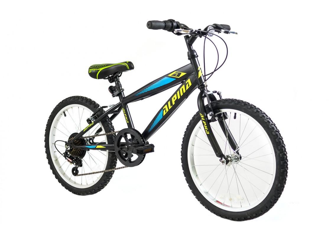 Alpina Alpha MTB 20x11 Black Bikes zeussa.gr
