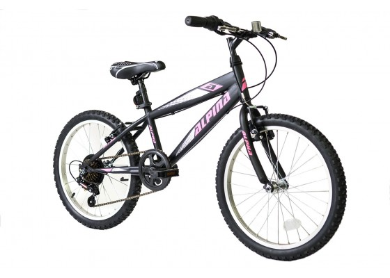 Alpina Alpha MTB 20x11 Μαύρο-Ροζ