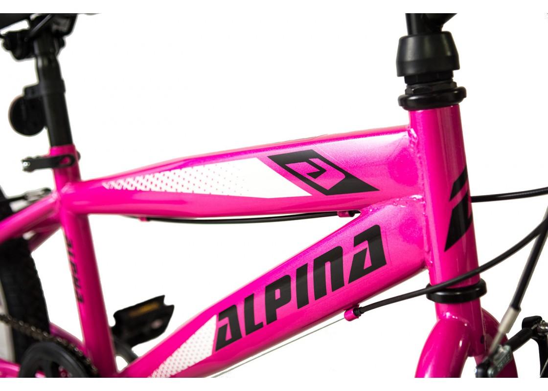Alpina Alpha MTB 20x11 Ροζ-Λευκό