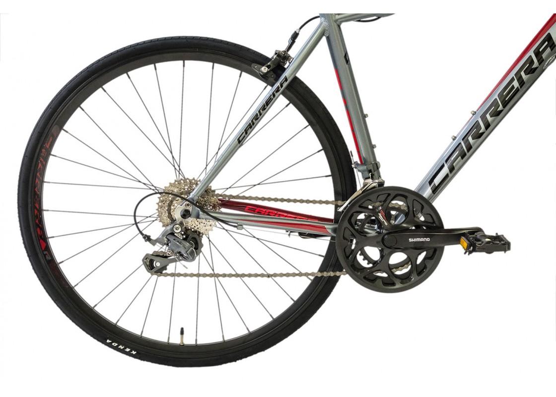 Carrera F1000 Fitness 700x48 Ανθρακί-Κόκκινο Ποδήλατα zeussa.gr