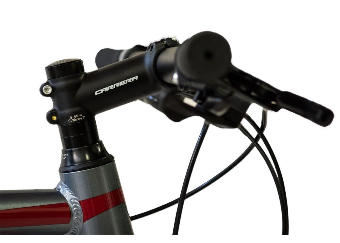 Carrera F1000 Fitness 700x50 Ανθρακί-Κόκκινο Ποδήλατα zeussa.gr