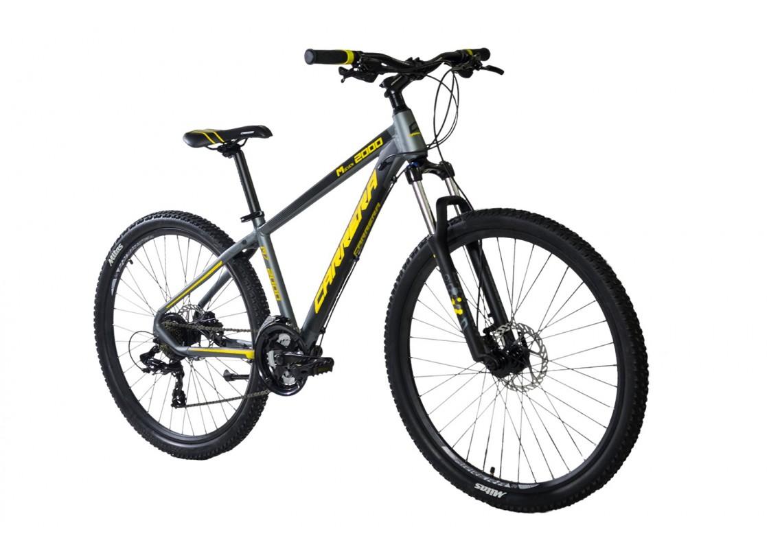Carrera M7 2000 HD MTB 27.5x15 Γκρι-Κίτρινο 2019 Ποδήλατα zeussa.gr