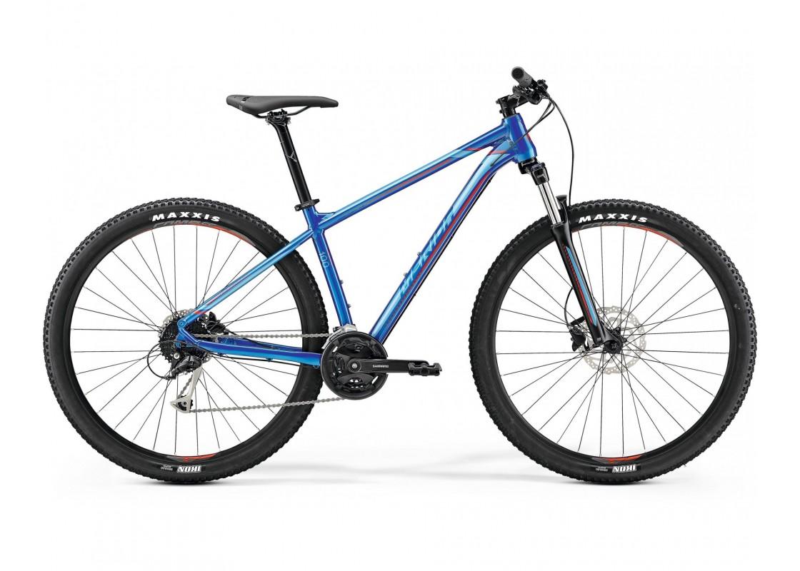 Ποδηλατα Βουνου - Ποδηλατα - Merida Big Nine 100 29x18.5 Μπλε Γυαλιστερό (Κόκκινο) 2019 Ποδήλατα zeussa.gr