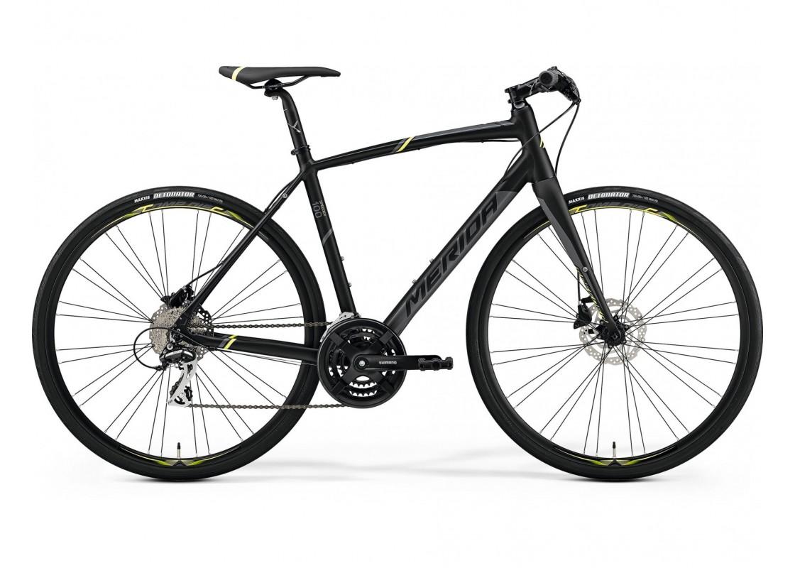 Merida Speeder 100 700x59 Μαύρο (Κίτρινο-Γκρι) 2019