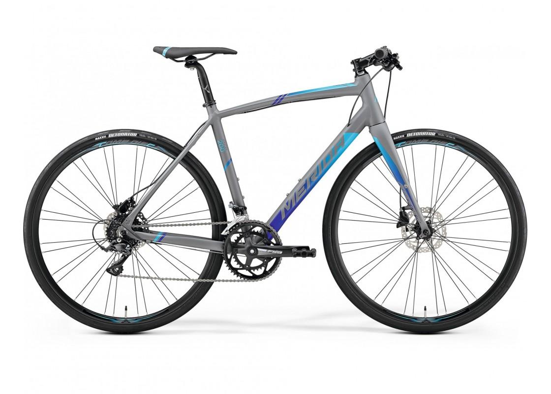 Ποδηλατα Δρομου Χωμα - Ποδηλατα - Merida Speeder 200  700x52 Γκρι Ματ (Μπλε) 2019 Ποδήλατα zeussa.gr